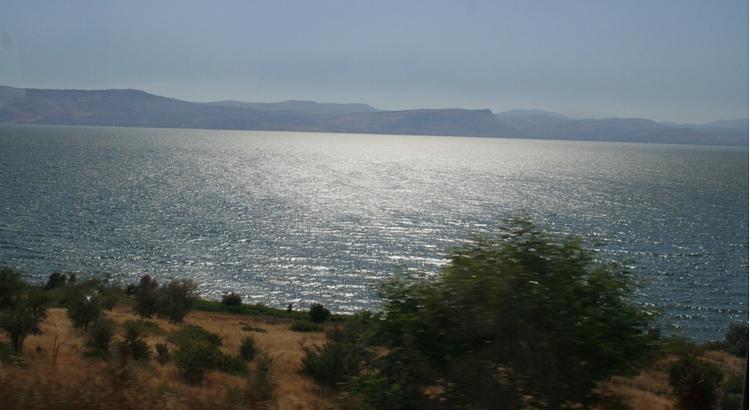 Colin Pearce in Galilee