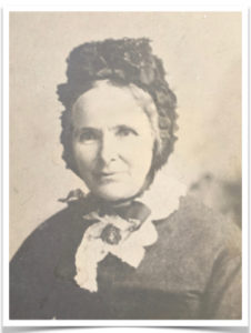Pioneer and farmer's wife, Colin Pearce's Great Great Grandmother Lucy Cobbledick