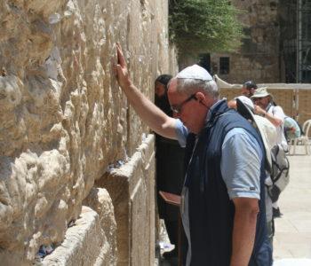Colin Pearce in Jerusalem